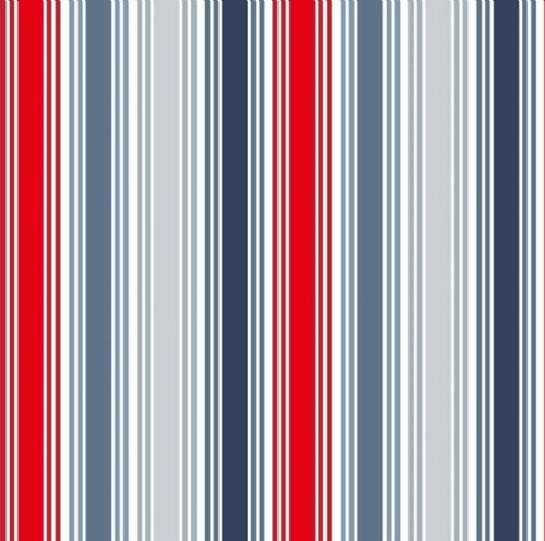 Makower Marina Stripe Fabric